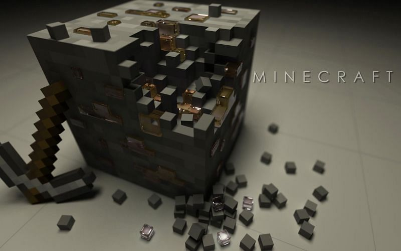 Iron ore can be used to create various items (Image via Minecraft Forum)