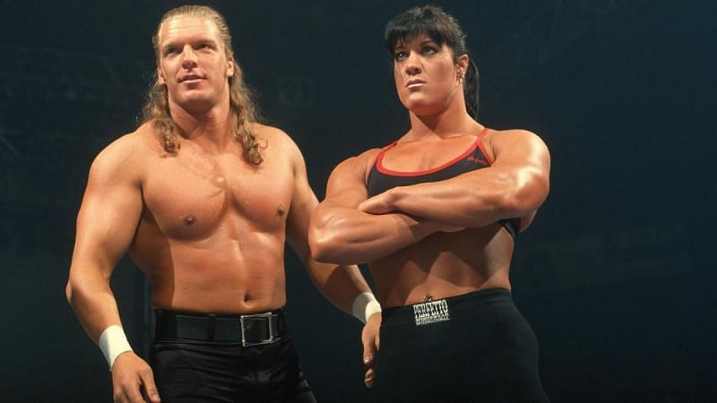 Chyna debuted as Triple H