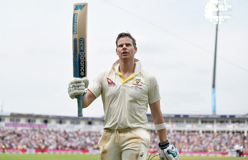 Steve Smith returned to run-scoring ways in the third Test against India.