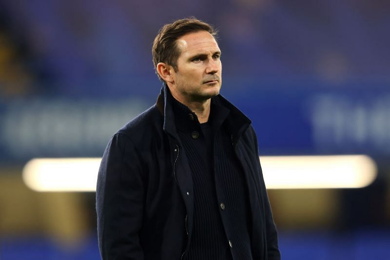 Chelsea manager Frank Lampard is under immense pressure