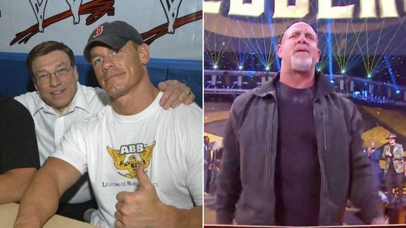 John Cena Sr gave his take on Goldberg