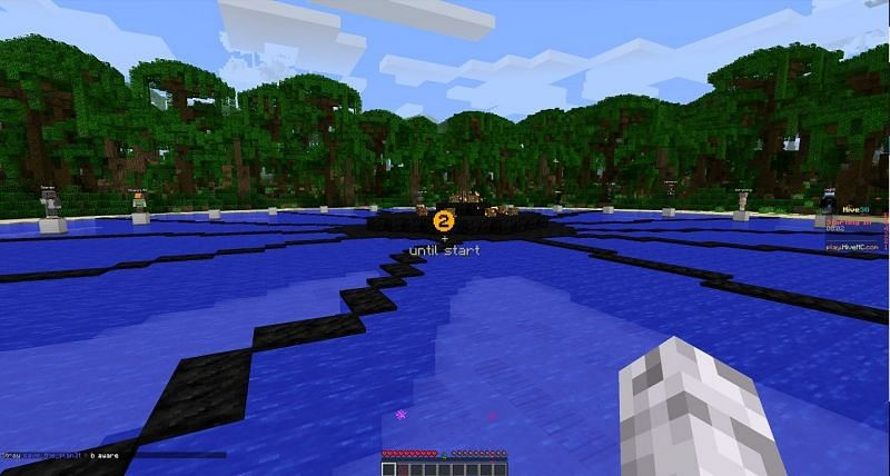 HiveMC is a popular minigames Minecraft server which offers hunger games