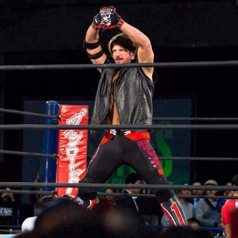 AJ Styles in NJPW