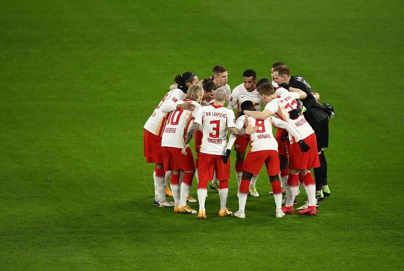 RB Leipzig play Wolfsburg on Saturday