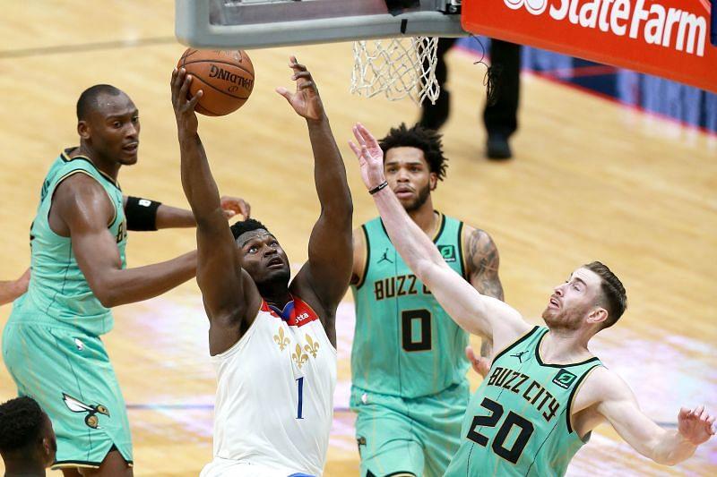 Charlotte Hornets vs New Orleans Pelicans