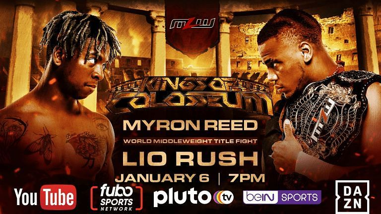 Lio Rush vs. Myron Reed for the Middleweight championship