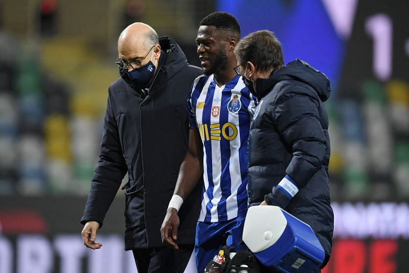 Chancel Mbemba was injured in the Supercup final against Benfica and is yet to return to full fitness.