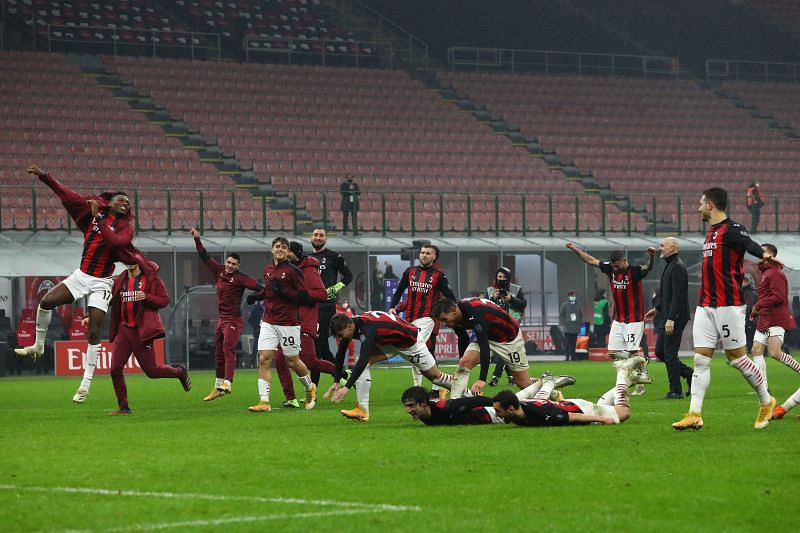 AC Milan will hope to continue their unbeaten streak