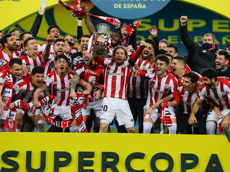 Bilbao are in dreamland right now, beating Real Madrid and Barcelona to lift the Spanish Super Cup