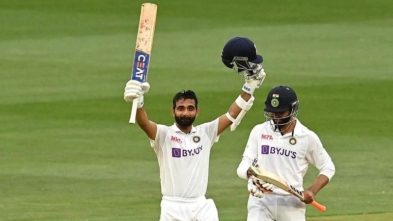 Stand-in skipper Ajinkya Rahane scored a brilliant hundred in Team India