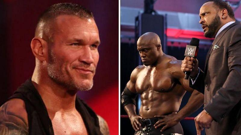 Randy Orton, Bobby Lashley, and MVP