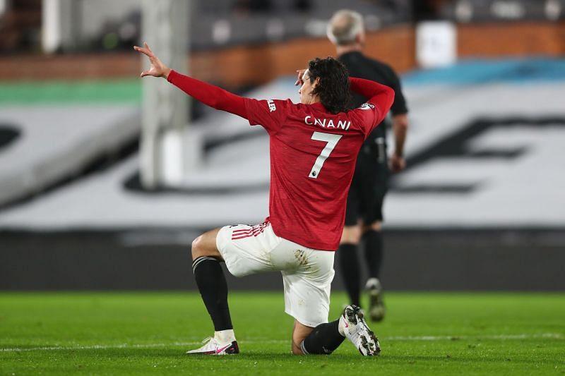 Edinson Cavani scored the leveler