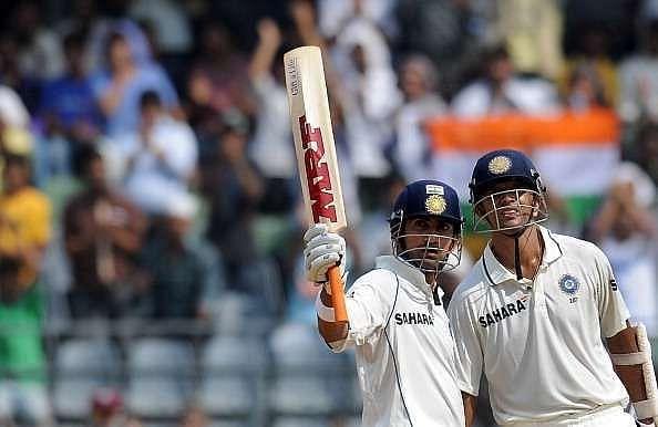 Gautam Gambhir made his Test debut under Rahul Dravid