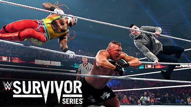 डॉमिनिक मिस्टीरियो ने Survivor Series 2019 में ब्रॉक लैसनर vs रे मिस्टीरियो के मैच में दखल दिया था
