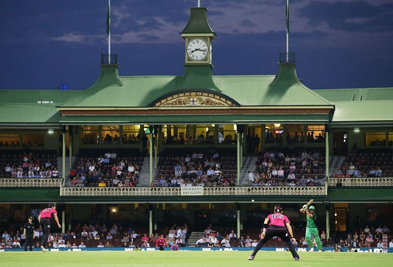 Sydney Cricket Ground will host its only BBL 2020-21 fixture on Tuesday