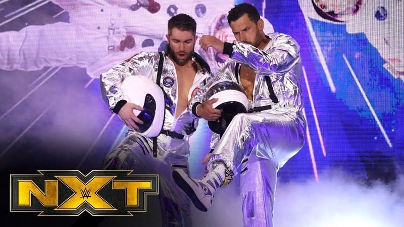 Fandango of Breezango has been trying to make a statement in WWE NXT.