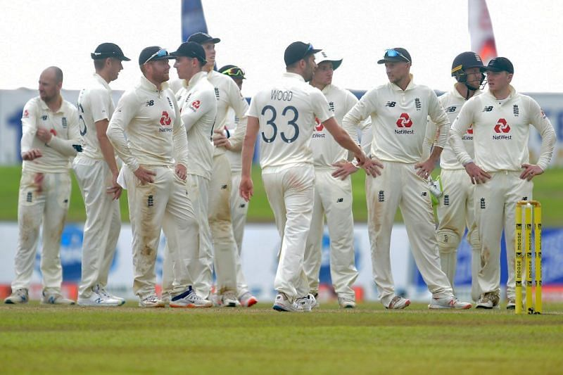 England are currently in Sri Lanka for a two-match Test series