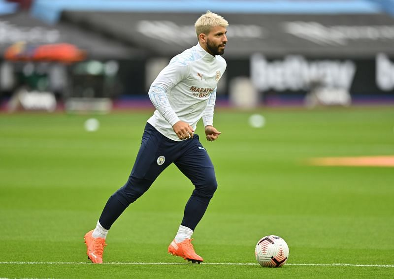 Sergio Aguero came in contact with a COVID positive person and is a doubt for the game