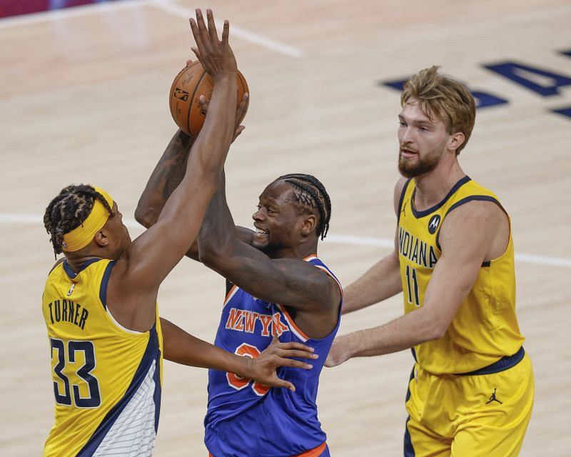New York Knicks v Indiana Pacers.