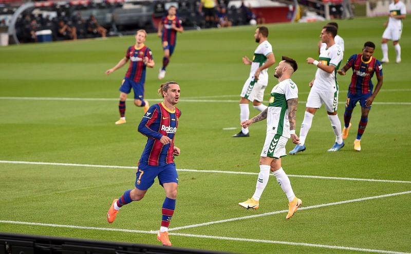 Barcelona take on Elche this weekend
