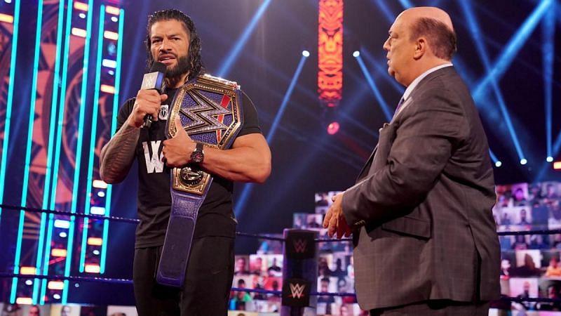 WWE WrestleMania में रोमन रेंस बड़े दिग्गज के खिलाफ यूनिवर्सल चैंपियनशिप को डिफेंड कर सकते हैं