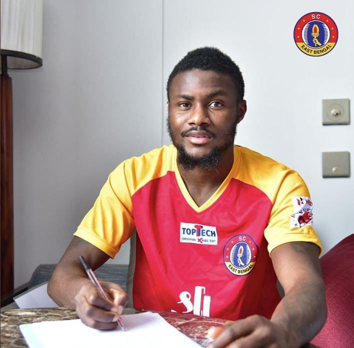 Bright Enobakhare signs for SC East Bengal