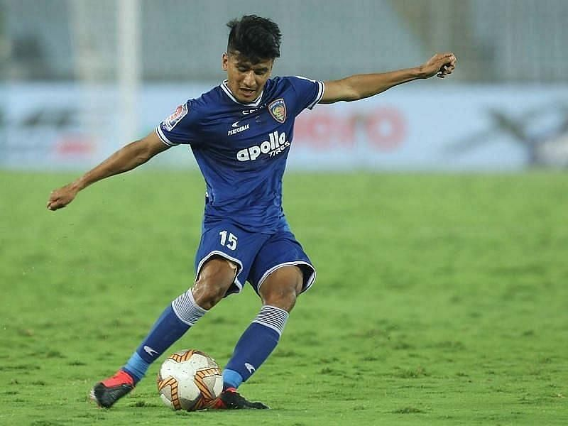Anirudh Thapa has been a crucial player for the Chennaiyin FC midfield (Courtesy - ISL)