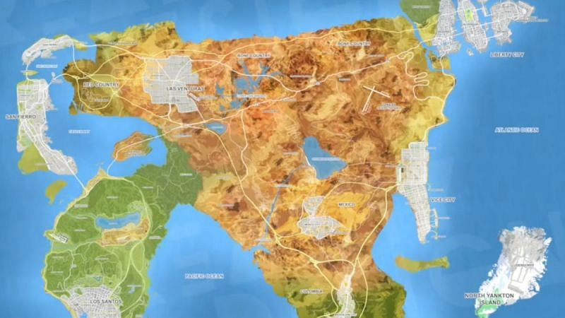 Many fans believe GTA 6 is being worked upon under the working title of Project AMERICAS (Image via TechRadar)