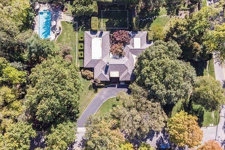 patrick mahomes house aerial view