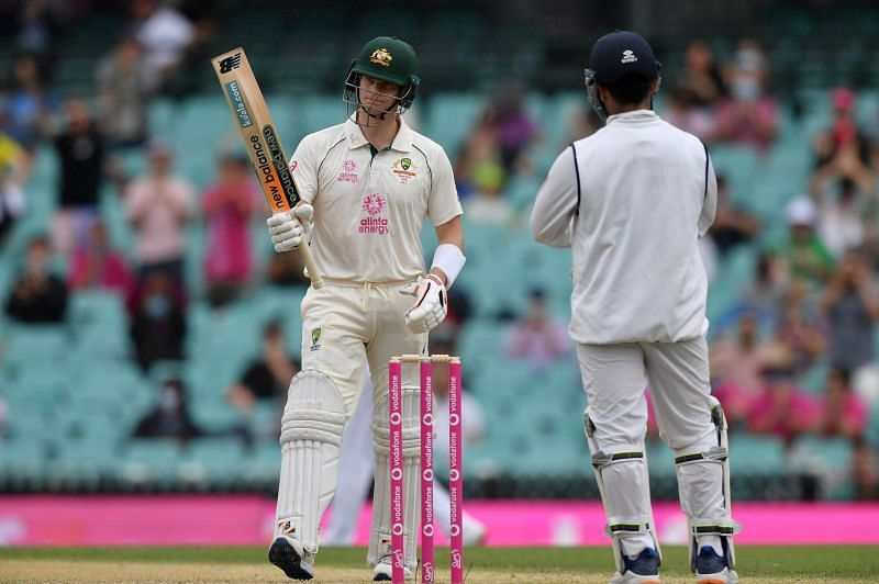 Steve Smith reached his 50 on Day 4