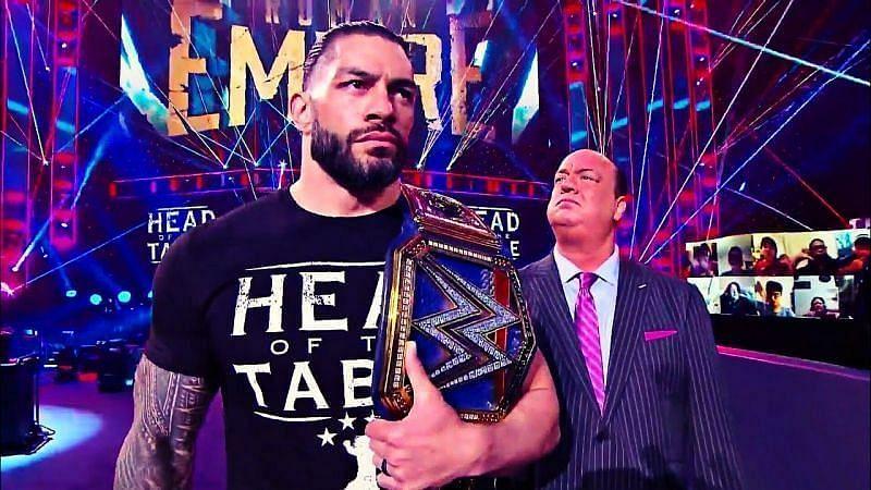 WWE SmackDown में इस समय रोमन रेंस और पॉल हेमन साथ में रहते हुए शानदार काम कर रहे हैं