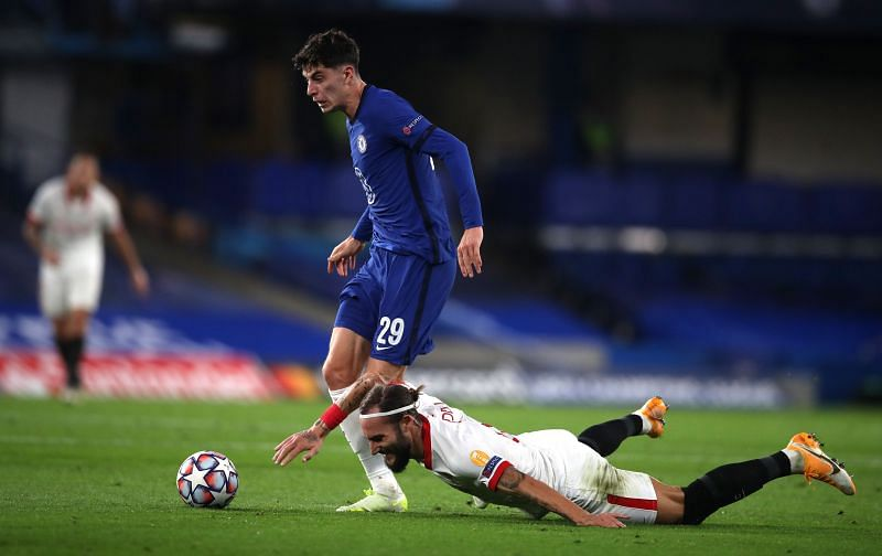 Havertz had a goal and assist for Chelsea