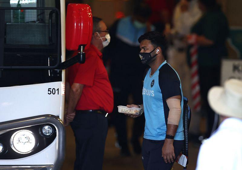 Rishabh Pant was thrown into the deep end against Australia