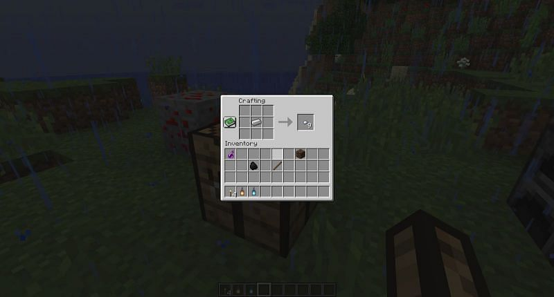 Place one iron ingot in your crafting UI and it will turn into 9 iron nuggets