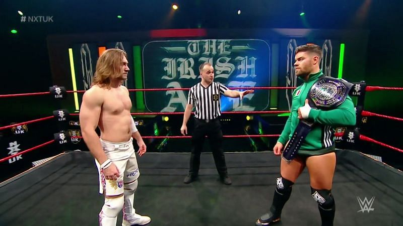 Ben Carter made his NXT UK in-ring debut tonight and Triple H is a big fan.