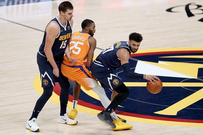 Phoenix Suns v Denver Nuggets.