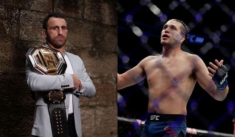 Alexander Volkanovski is set to defend his UFC featherweight belt against Brian Ortega
