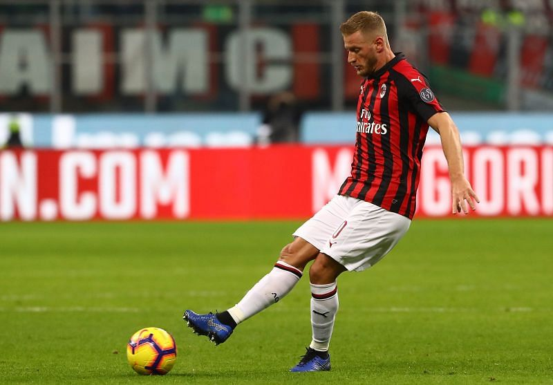 Ignazio Abate played more than 300 matches for AC Milan