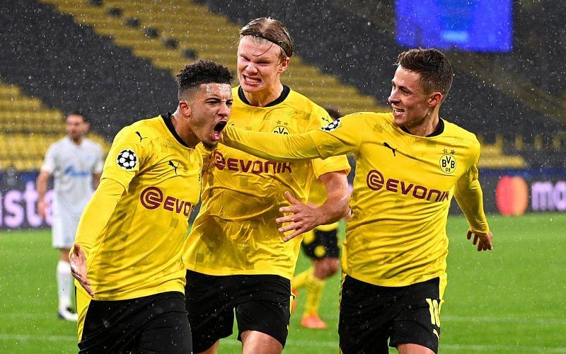 Dortmund superstars Sancho and Haaland