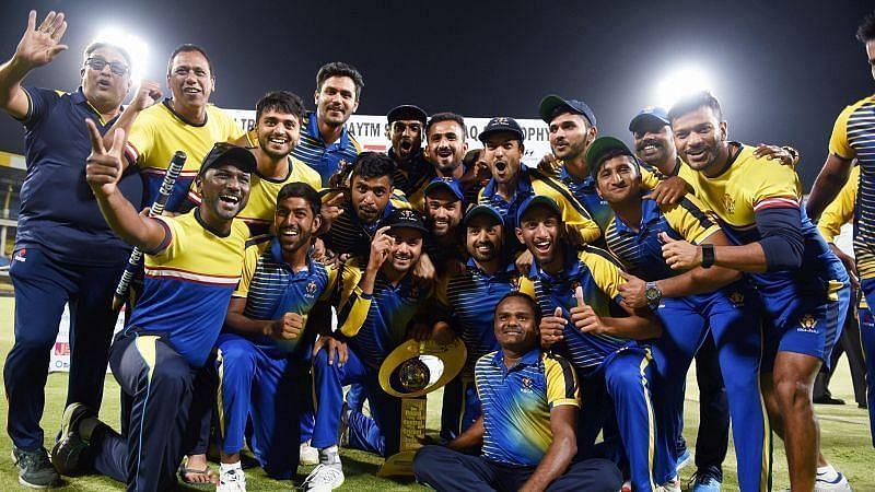 Karnataka are the defending champions of the Syed Mushtaq Ali Trophy