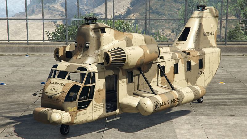The Cargobob makes an appearance during GTA 5