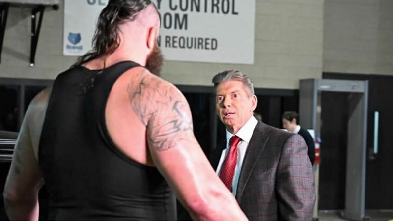Vince McMahon rarely appears on WWE television these days