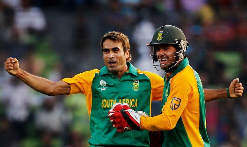 Imran Tahir rated AB de Villiers as his top batsman.