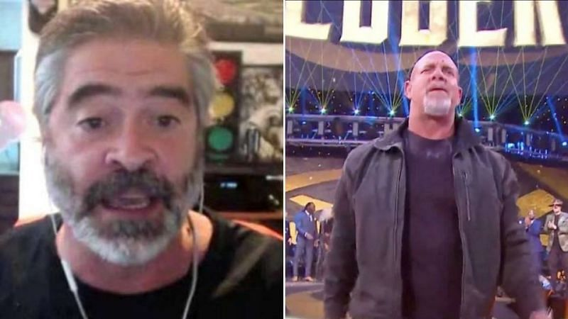 Vince Russo compared WWE repeatedly bringing back Goldberg to WCW running the NWO angle into the ground