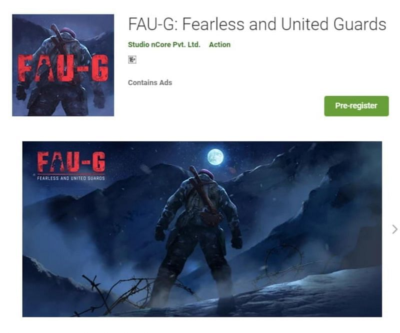 FAU-G Pre-registration is going on