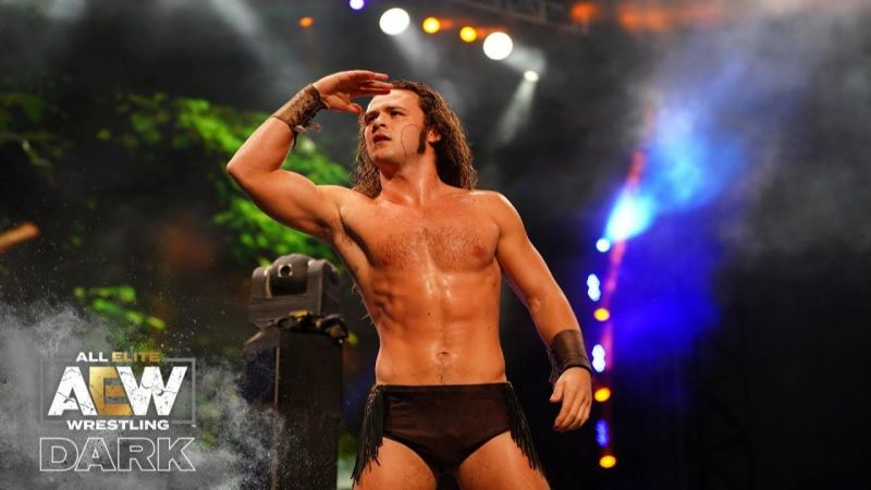 Jungle Boy debuted a new entrance theme tonight on AEW Dark, and it