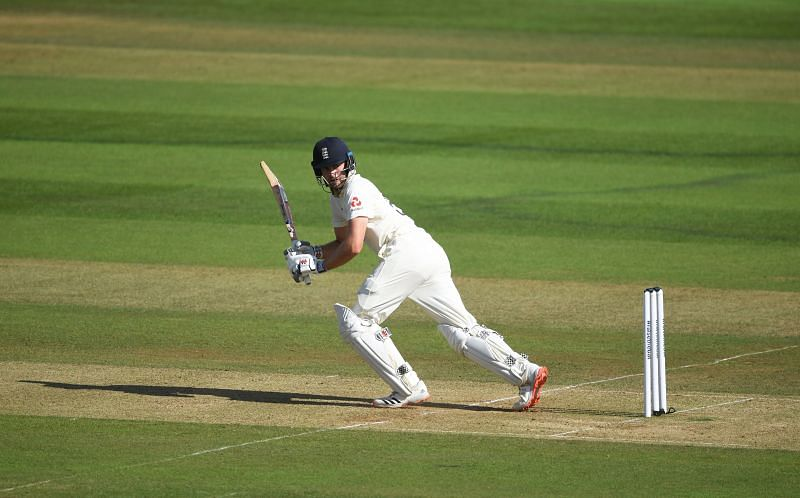 Dom Sibley scored a crucial half-century in the second Test against Sri Lanka