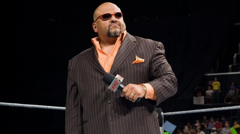 Vince McMahon hired Tazz as an announcer