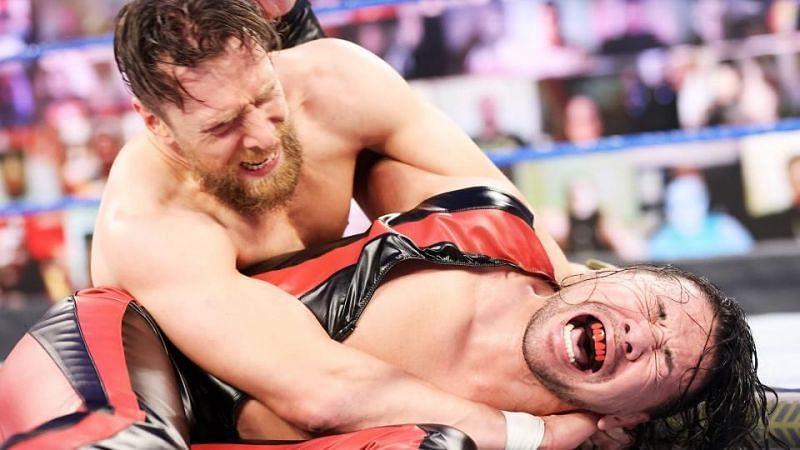 Shinsuke Nakamura locked in Daniel Bryan