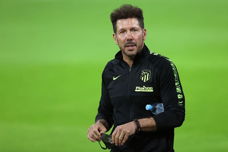 Atletico Madrid boss Diego Simeone is looking for a backup striker
